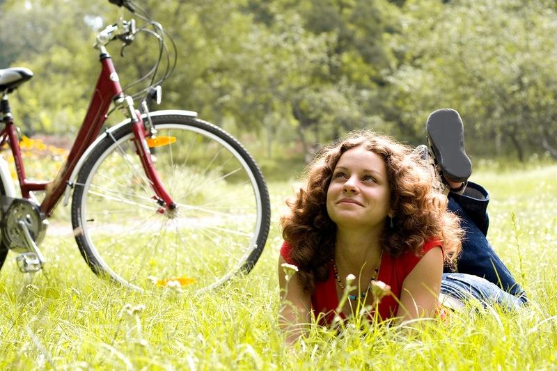 С знакомство велосипедом